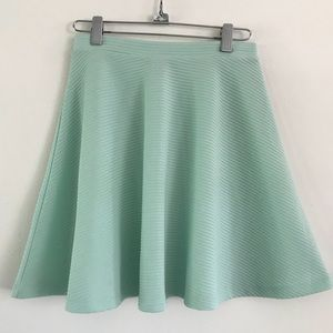 ASOS Mint Skater Skirt